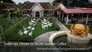 Indahnya Dinner Di Secret Garden Coffee
